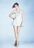 Photo mode robe avec traitement créatif