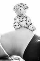 Femme enceinte 7 mois maternité / ventre