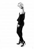 Portrait femme mode Noir et Blanc