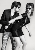 Portrait Mode couple Noir et Blanc