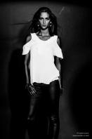 Photo pour book modèle noir et blanc 2015