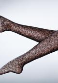 Packshot photos de produits lingerie et collants à motifs