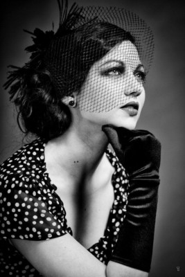 Portrait style années 50