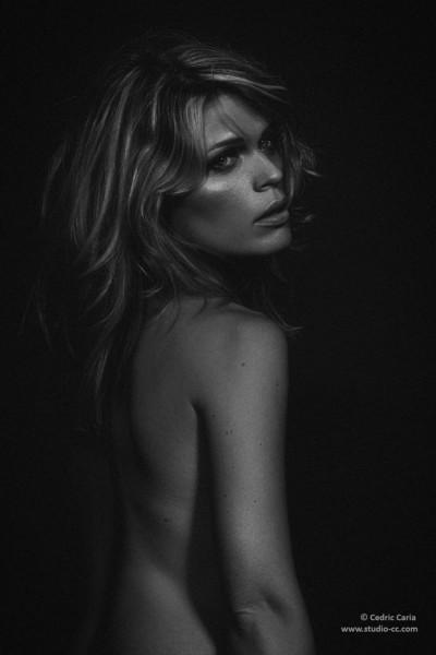 Boudoir sensuel nu caché